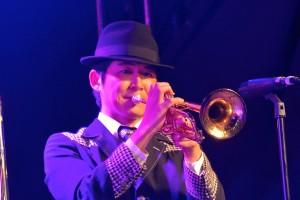 Monaurail Solo Jazz Trumpet