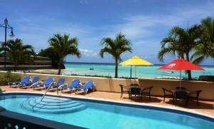 Pool and ocean