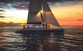 Sunset Luxury Champagne Cruise on the Sprit