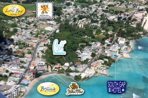 Barbados the Gap nightclubs and accommodation