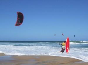 Brazil Floranapolis-Kitesurfing