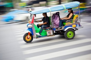Tuk Tuks: A favourite Taxi in Bankok