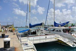 catamarans flat bottom boats are ideal for coastal cruising