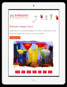 Barbados Happy Hours - When & Where