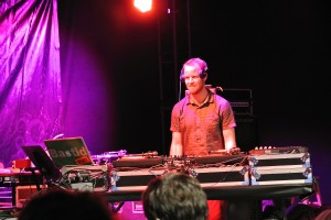 Scratch Bastid on Turntable